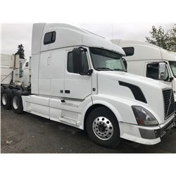 2013 VOLVO VNL 760 T/A TRUCK TRACTOR W/D13 VOLVO POWER, AUTOMATIC