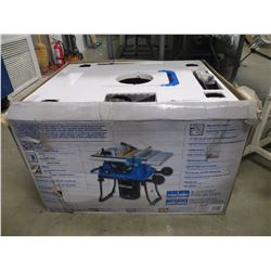 "MASTERCRAFT 15A 10"" TABLE SAW IN BOX"