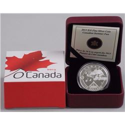2013 $10 Fine Silver Coin - Canadian Summer Fun. RCM Issue. Limited Edition w/ COA.