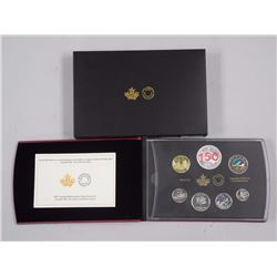 RCM-2017 Limited Edition Silver Dollar Proof Set. Canada 150. Our Home & Native Land.