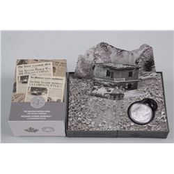 The Second World War. The Italian Campaign 1943-1945. 9.9 Fine Silver $20.00 Coin w/Display.
