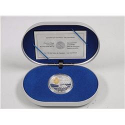 """925 Sterling Silver $20.00 Proof Coin. Canadian CT-1/4 Tutor"""" """"The Snowbird."""""""