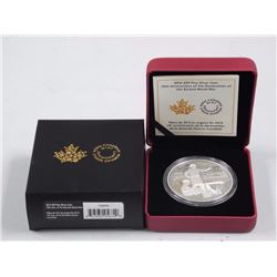 Declaration of War 75th Anniversary of Second World War. 9.9 Fine Silver $30.00 Coin. Limited Editio