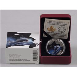 RCM-Lost Ships in Canadian Waters- 9.9 Fine Silver $20.00 Coin. S.S. Edmond Fitzgerald.