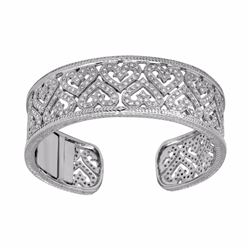 18KT White Gold 3.58ctw Diamond Bracelet