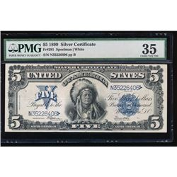 1899 $5 Chief Silver Certificate PMG 35
