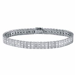 18KT White Gold 3.64ctw Diamond Bracelet