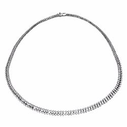 18KT White Gold 6.05ctw Diamond Necklace