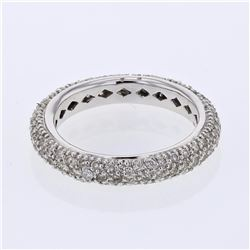 14KT White Gold 1.16ctw Diamond Ring