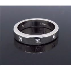 Platinum 0.30ctw Diamond Wedding Band