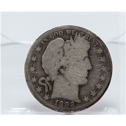 1893-S Barber Half Dollar Coin