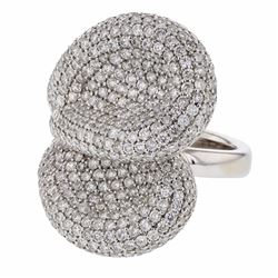 14KT White Gold 3.75ctw Diamond Ring
