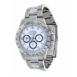 Rolex Daytona Stainless Steel Mens Wristwatch
