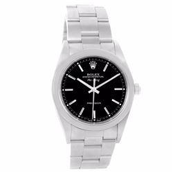 Rolex Air King Oyster Perpetual Stainless Steel Mens Wristwatch