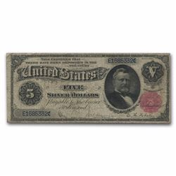 1891 $5 Large Silver Certificate