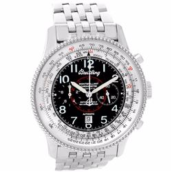 Breitling Navitimer Montbrillant Stainless Steel Special Edition Mens Wristwatch