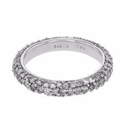 14KT White Gold 1.98ctw Diamond Ring