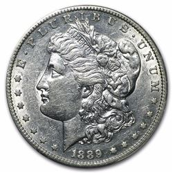 1889-S $1 Morgan Silver Dollar Coin