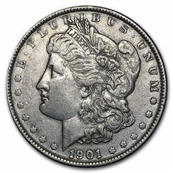 1901 Morgan Dollar AU RARE DATE