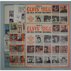 Elvis 8LP Catalogue and LP Record,Rare. (OCE)