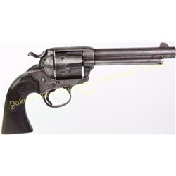 "Colt Bisley .41 cal. SN 219458 SA revolver with 5 1/2"" barrel blue finish with Colt hard rubber grip"