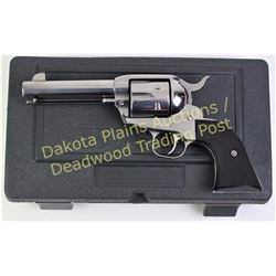 "Ruger New Vaquero .45 cal. SN 51130443 single action revolver 4 1/2"" stainless finish barrel, black"