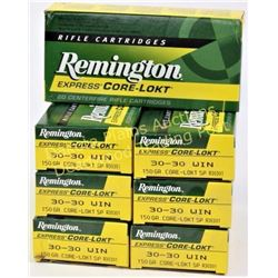 6 full boxes Remington 30-30 ammo. Est. 50-75