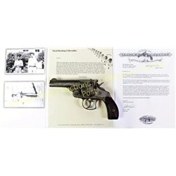 "Smith & Wesson DA 1st Model .44 cal. SN 5279 revolver with 4"" barrel, back of frame with stamped ini"
