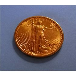 1922 St. Gaudens $20 gold piece