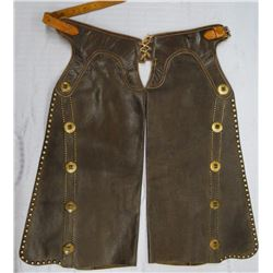 Hamley studded chaps, nice condition