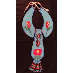 Ute beaded tie and collar