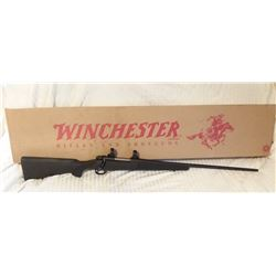 "Winchester 70 7 mm Mag, NIB, 26"" bbl., synthetic stock, scope rings, SN G2330070"
