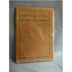 Godfrey, Edward S, Brg Gen CUSTERS LAST BATTLE, Fair , 1908 Century paperback     publishing of Cent