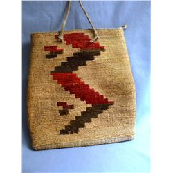 "Corn Husk Bag, 9"" x 8"""