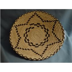 "Papago basket, 2 x 9"",  ca 1980"