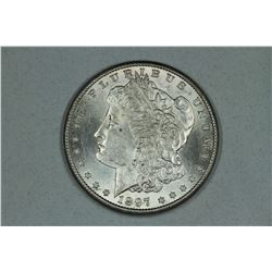 1897 S Morgan, about MS63
