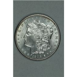 1903 Morgan, about MS64