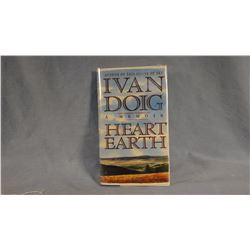 6 Doig, Ivan novels, all 1st ed., all signed by author, all have dj. HEART EARTH, WINTER BROTHERS, D