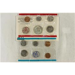 1969 US MINT SET (UNC) P/D/S (WITH ENVELOPE)