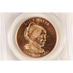 2011 LUCY HAYES BRONZE MEDAL PCGS MS67RD