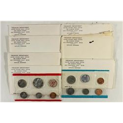 7-1968 US MINT SET (UNC) P/D/S (WITH ENVELOPES)
