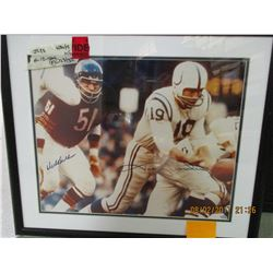 Butkus/Unitas photo