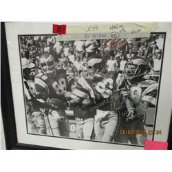 Vince Papale autographed photo