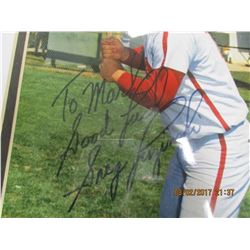 Greg Luzinski autographed photo