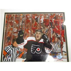 Simon Gagne autographed photo