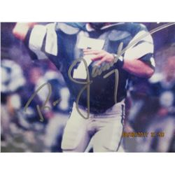 Ron Jaworski autographed photo