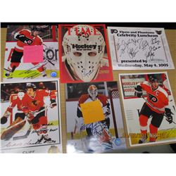Hockey Photos, Time Cover, Autographes