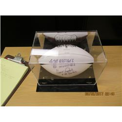 Vince Papale Autographed Football