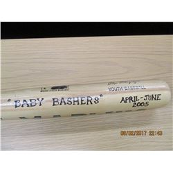 Alex Rodriguez Monogrammed Youth Baseball Bat