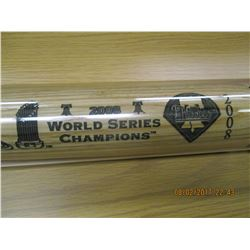 Phillies 2008 World Series Champions Baseball Bat